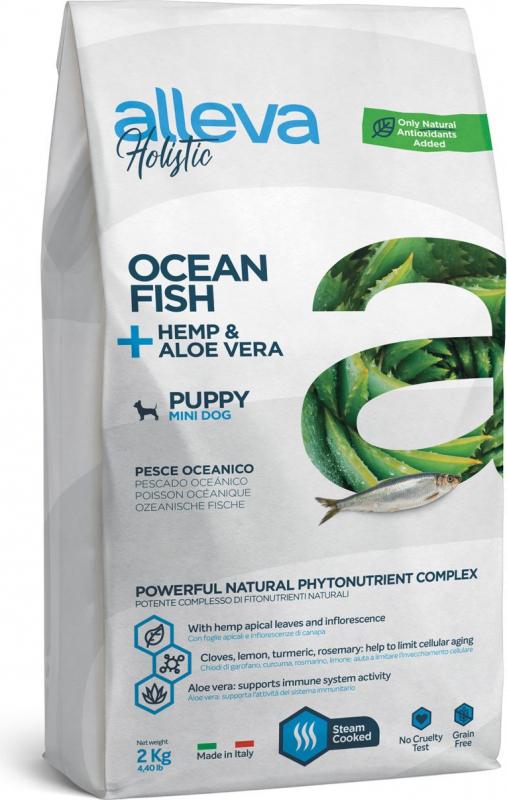 ALLEVA Holistic au poisson pour chien adulte de petite taille
