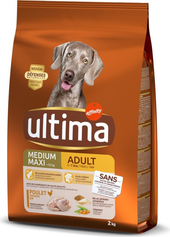 Affinity ULTIMA Medium - Maxi Adult mit Huhn