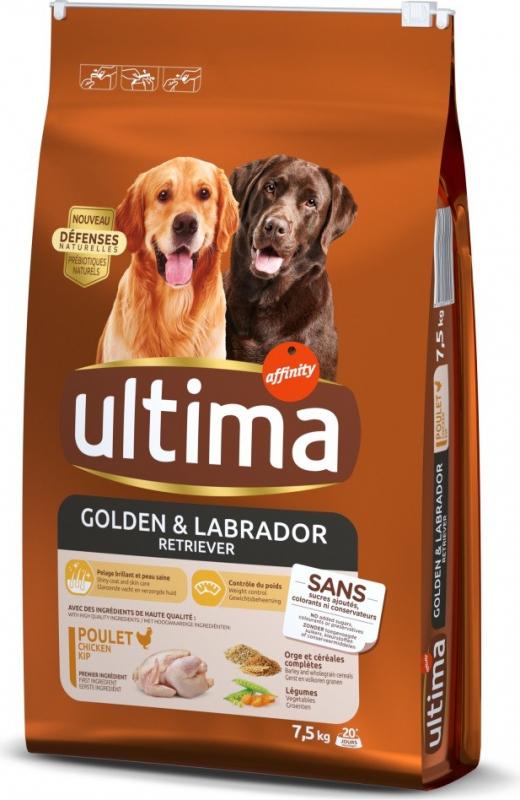Affinity ULTIMA Medium-Maxi Golden & Labrador Poulet pour chien