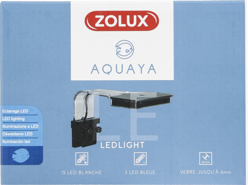 Illuminazione Led Aquaya - bianco o nero