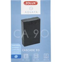 Filtre cascade Aquaya pour aquarium jusqu'à 90L - Blanc ou noir