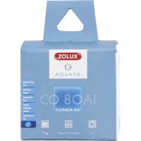 Feiner blauer Schaum AI für Filter Corner Aquaya