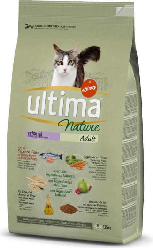 Affinity UTLIMA Nature Stérilisé Saumon pour chat stérilisé