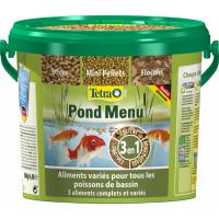Tetra Pond menu 4,8L - Mezcla de 3 alimentos variados para los peces de estanque