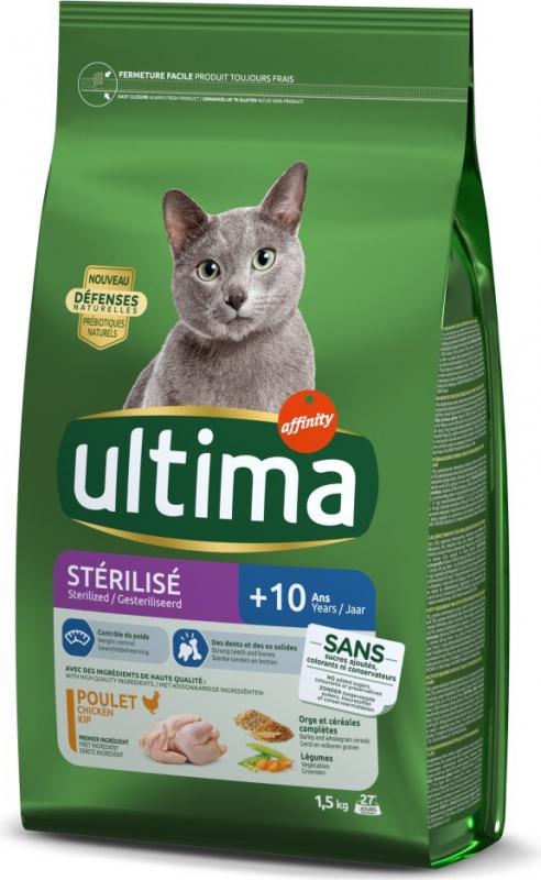 Affinity ULTIMA Sterilise Senior mit Huhn für Katzen + 10 Jahre
