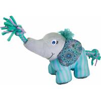 Jouet pour chien KONG Peluche Carnival Eléphant - 2 tailles disponibles