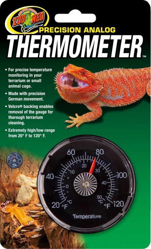 Termómetro analógico para terrário