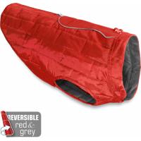 Kurgo Loft wendbarer Mantel in rot/grau