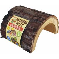 Cachette en bois naturel pour reptiles, amphibiens - 3 tailles disponibles
