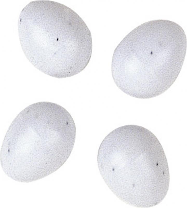 Faux oeuf en plastique (x4)