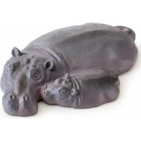 île hippopotame pour terrarium Exo Terra