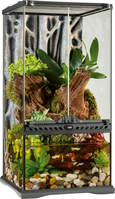 Paludarium Naturel Exo Terra 30x30x60 cm
