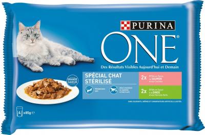 PURINA ONE pâtée pour Chat Stérilisé