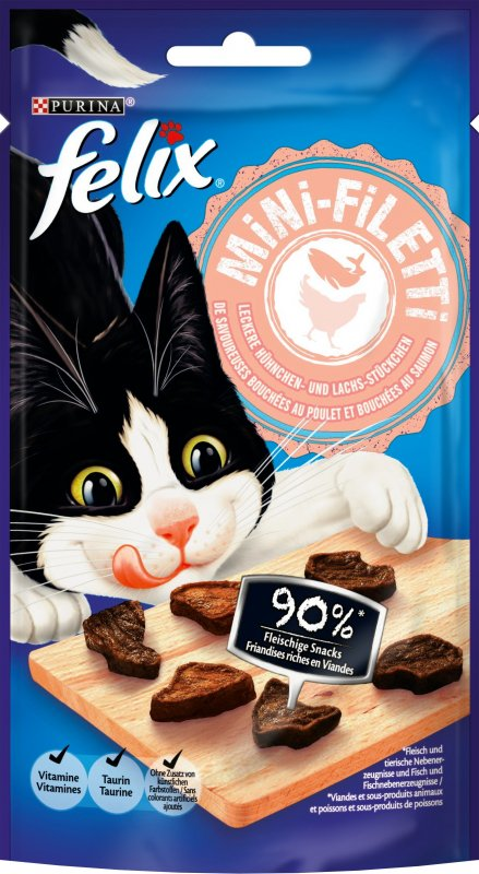 Friandises FELIX Mini Filetti pour chat