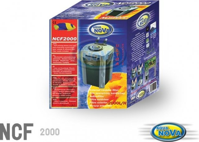 Aqua Nova Filtre extérieur pour aquarium
