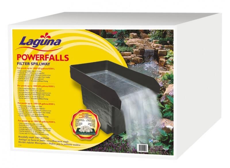 Filtre cascade powerfalls filtre bassin for Fabriquer cascade bassin