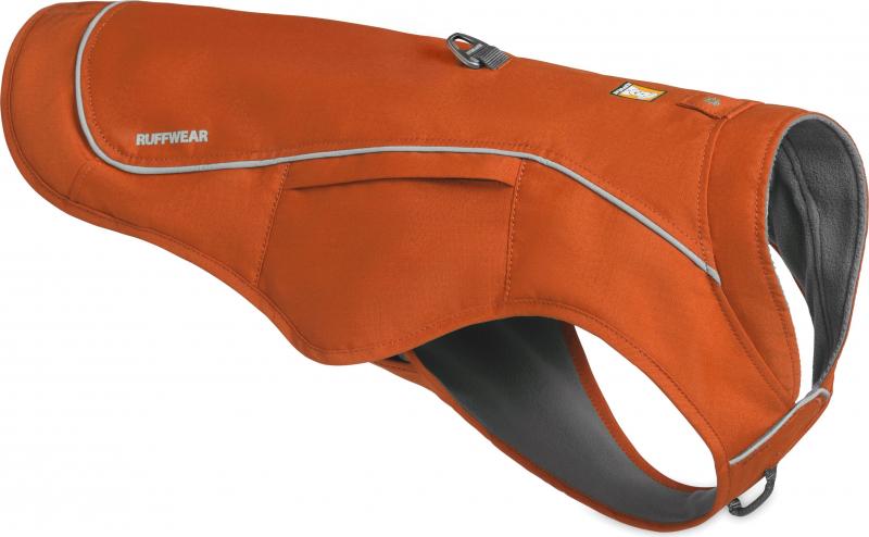 Veste imperméable Overcoat Fuse Orange