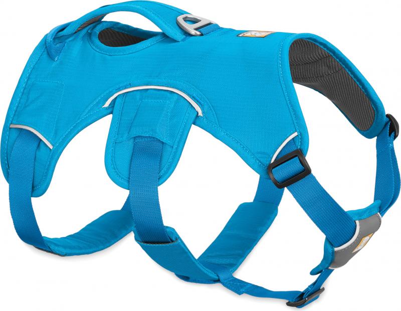 Harnais Web Master Bleu de Ruffwear - plusieurs tailles disponibles