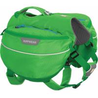 Sacoches Approach Pack vert de Ruffwear pour chien - plusieurs tailles disponibles