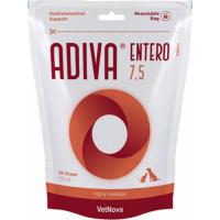 VETNOVA Adiva Entero 7,5 Protecteur Intestinal pour chat et petit chien