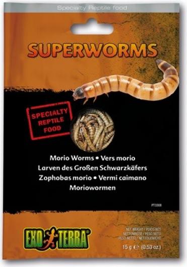 Exo Terra Aliments sous vide aux différentes saveurs pour reptiles