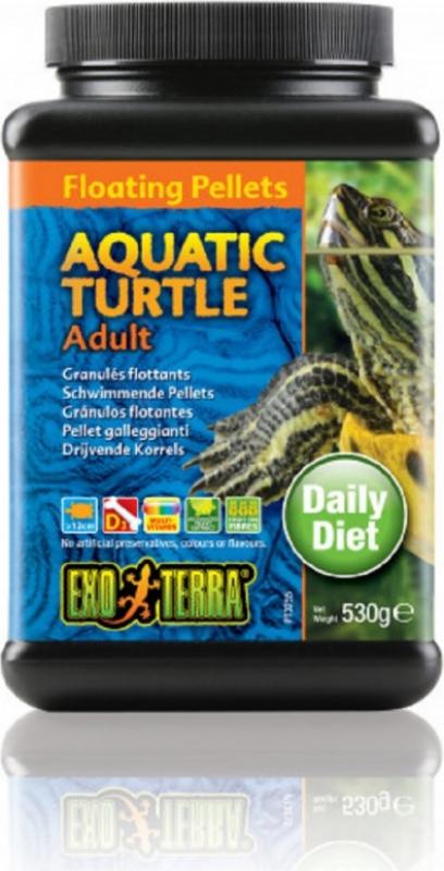 Granuli galleggianti Exo Terra per tartarughe acquatiche adulte