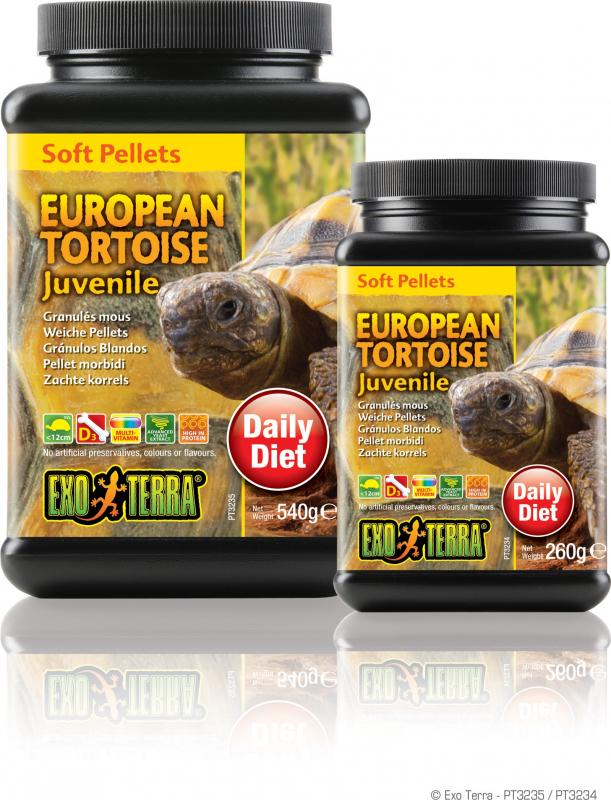 Aliment Exo Terra pour tortues terrestres Juvénile européennes