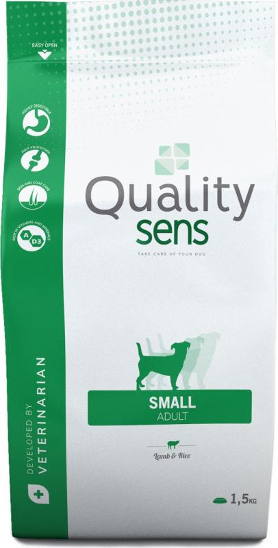 QUALITY SENS Small Sensitive, Lamb and Rice