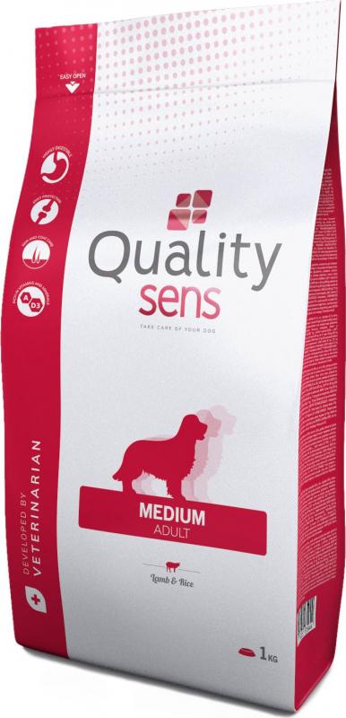 QUALITY SENS Agneau Riz Medium pour chien sensible de taille moyenne