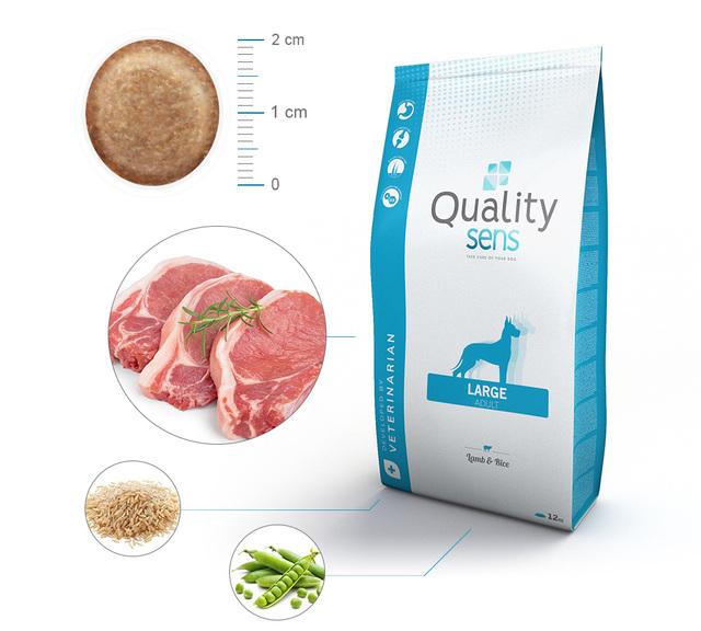 croquettes pour chien quality sens aliments Zoomalia