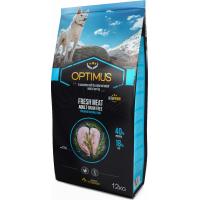 OPTIMUS Fresh Meat al pollo fresco senza cereali per cane adulto