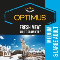 OPTIMUS Fresh Meat au poulet frais sans céréales pour chien adulte