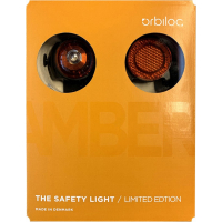 Set Hundelicht Orbiloc SAFETY Light ORBILOC Bernstein + reflektierender Clip