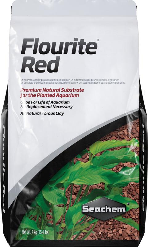 Seachem Flourite Red Sol complet premium pour aquarium