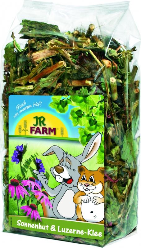 JR Farm Cone de flores e trevo de Luzerna
