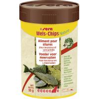 Sera Wels Chips Nature Chips riches en fibres pour Ancistrus et Loricaridés