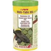 Sera Wels Tabs XXL Nature pastilles à base de végétaux pour les grands ancistrus et loricaridés