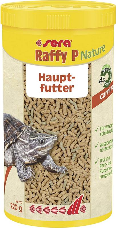 Sera Raffy P granulados flotantes para reptiles carnívoros