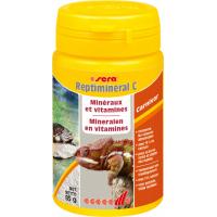 Sera Reptimineral C aliment complémentaire pour tous les reptiles carnivores