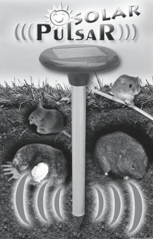 Aparato para alejar a los roedores PULSAR SOLAR