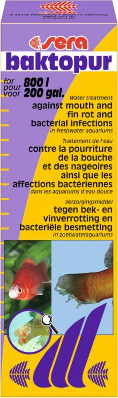 Sera Backtopur Conditionneur d'eau contre les infections bactériennes