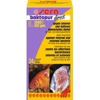 Sera Backtopur Direct Conditionneur d'eau efficace contre les infections bactériennes