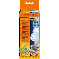 Sera Reptil Precision Daylight Compact UVB 2% Ampoule lumière du jour pour terrariums