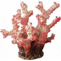 Décoration en résine - Corail rose