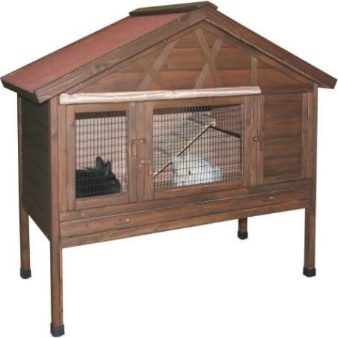 Abri pour rongeurs 4 saisons clapier et cage d 39 ext rieur for Abri lapin exterieur