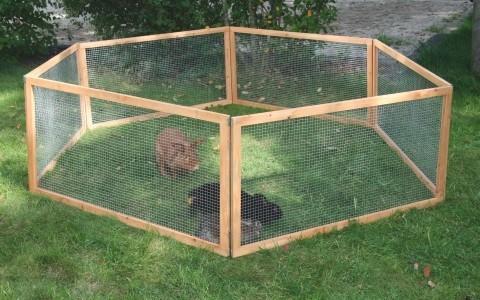 Cage d ext rieur vario clapier et cage d 39 ext rieur for Cage lapin nain exterieur