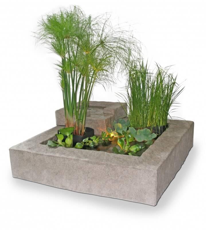 Fabriquer Sa Fontaine De Jardin Good Dco Jardin Rcup En Vieux