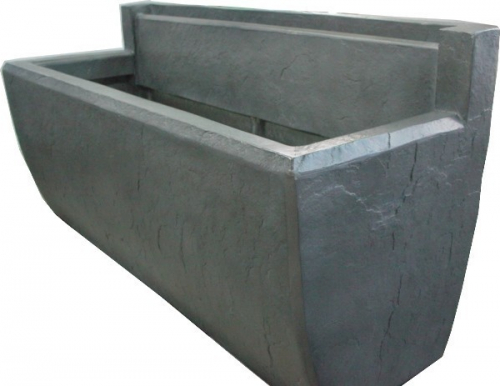 fontaine murale en zinc 2. Black Bedroom Furniture Sets. Home Design Ideas