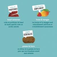 Edgard & Cooper Bonbecs Boeuf frais Naturel Sans Céréales