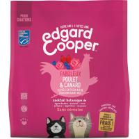 Edgard & Cooper Getreidefrei mit Huhn & Ente & Fisch für Kätzchen